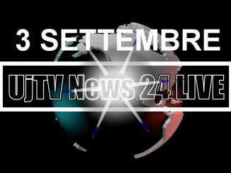 TG edizione della sera 3 settembre 2019 telegiornale dell'Umbria UjTV News24 LIVE