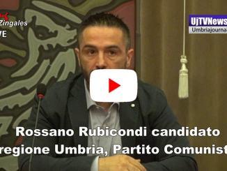 Elezioni Umbria, Rubicondi candidato, politiche del lavoro al centro