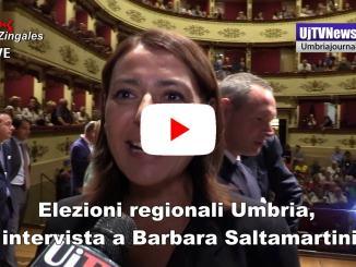 Elezioni Umbria, Barbara Saltamartini a Gubbio, intervista