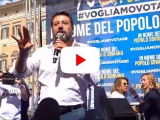 No al patto delle poltrone, vogliamo votare, la diretta a Roma | VIDEO