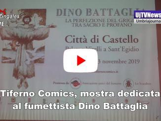 Tiferno Comics, mostra dedicata al maestro indiscusso del fumetto Dino Battaglia