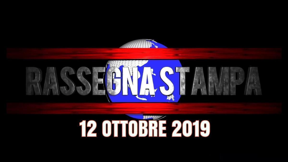 Rassegna stampa dell'Umbria 12 ottobre 2019 UjTV News24 LIVE