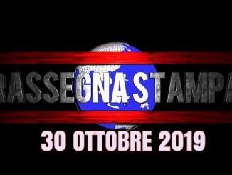 Rassegna stampa dell'Umbria 30 ottobre 2019 UjTV News24 LIVE