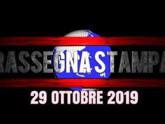 Rassegna stampa dell'Umbria 29 ottobre 2019 UjTV News24 LIVE