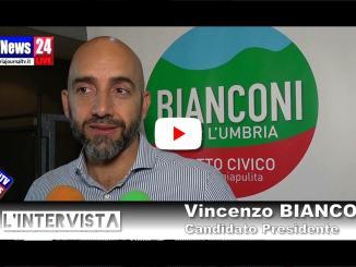 Intervista con Vincenzo Bianconi, presentata lista Bianconi presidente
