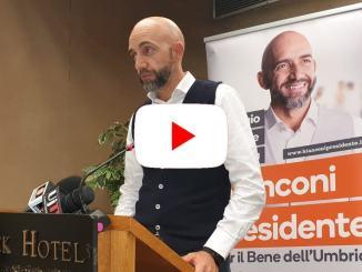 Fondi a famiglia Bianconi, la conferenza del candidato presidente   Live