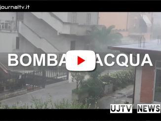 Bomba d'acqua nel Perugino, tuoni, fulmini, grandine e vento   VIDEO