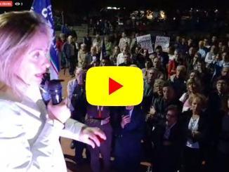 Elezioni Umbria, Giorgia Meloni a Ponte San Giovanni | Intervista e diretta streaming