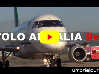 Aeroporto, battesimo di volo tratta Perugia Milano e viceversa, attivo da oggi