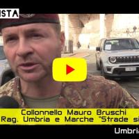 Intervista video con il colonnello Mauro Bruschi, Strade sicure