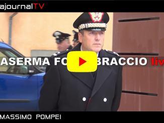Inaugurata nuova caserma Carabinieri di Perugia Fortebraccio in Corso Garibaldi