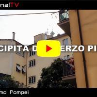 Precipita dal terzo piano a Foligno, muore donna | Video