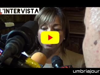 Umbria, primo insediamento di Giunta, intervista alla presidente Tesei