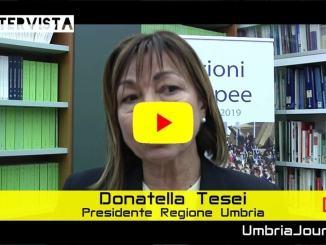 Unione dei comuni, presidente Tesei, regione pronta a fare la sua parte