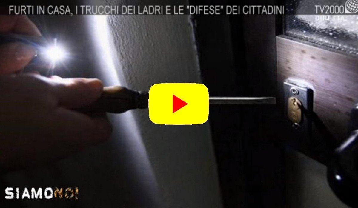 Furti in abitazione nel video i consigli della Polizia di Stato
