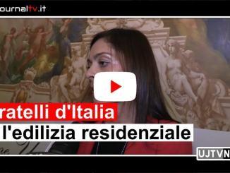 Eleonora Pace di FdI, regione Umbria, spiega modifica legge edilizia residenziale