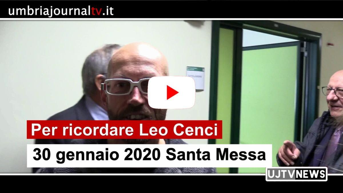 Leo Cenci, 30 gennaio 2020 Santa Messa a un anno dalla morte
