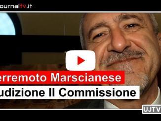 Terremoto Marscianese, audizione II commissione, intervista presidente Mancini