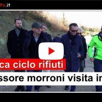 Ciclo rifiuti, Assessore Morroni avvia programma visite a impianti