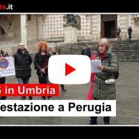 Manifestazione No 5G Umbria, si mobilitano anche a Perugia