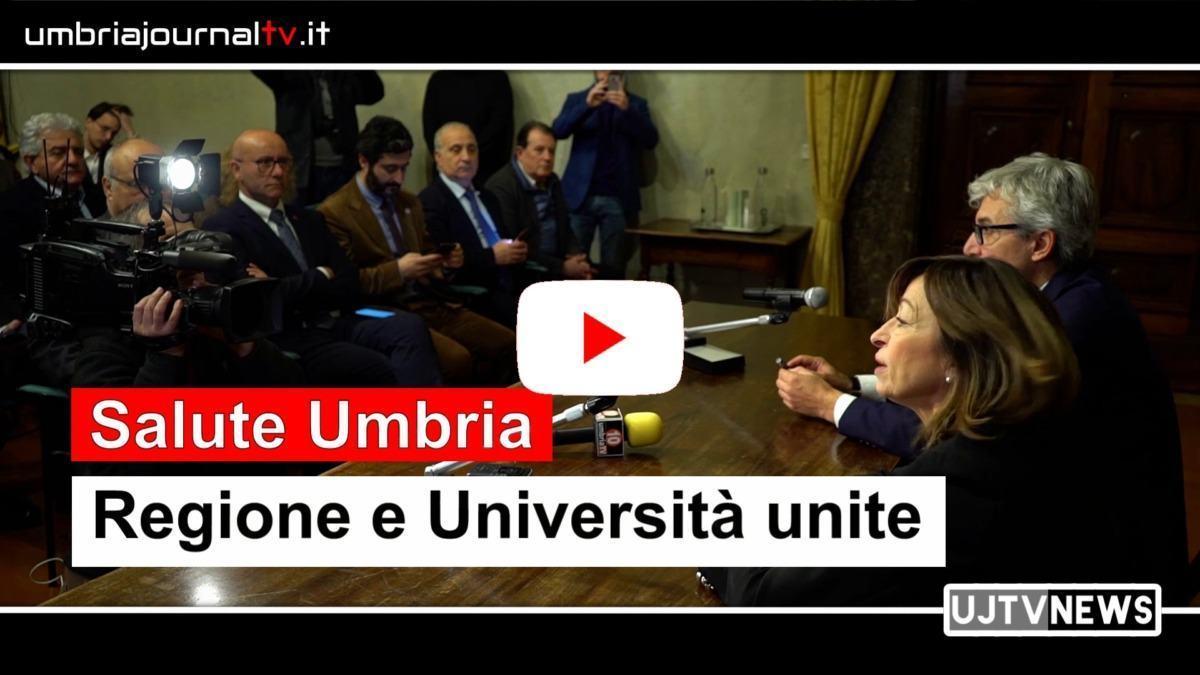 Regione Umbria e università firmano memorandum intesa per la salute