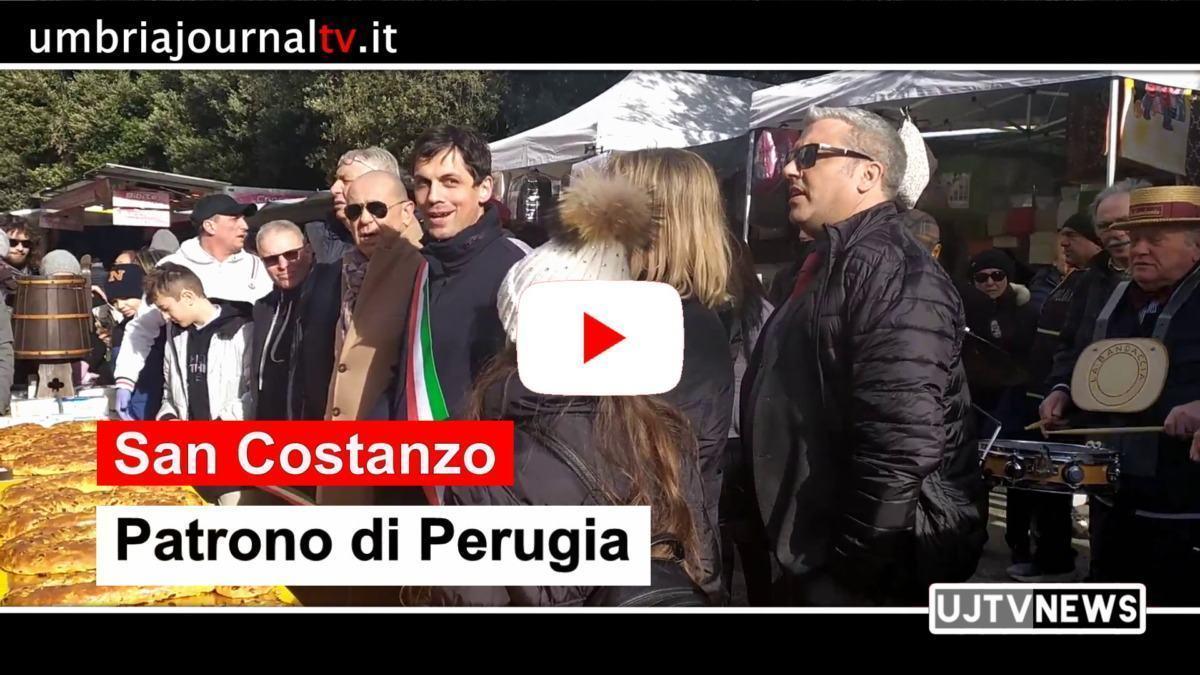 San Costanzo di Perugia, la festa, la fiera e il torcolo offerto dai forni