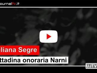 Senatrice a vita Liliana Segre è cittadina onoraria di Narni