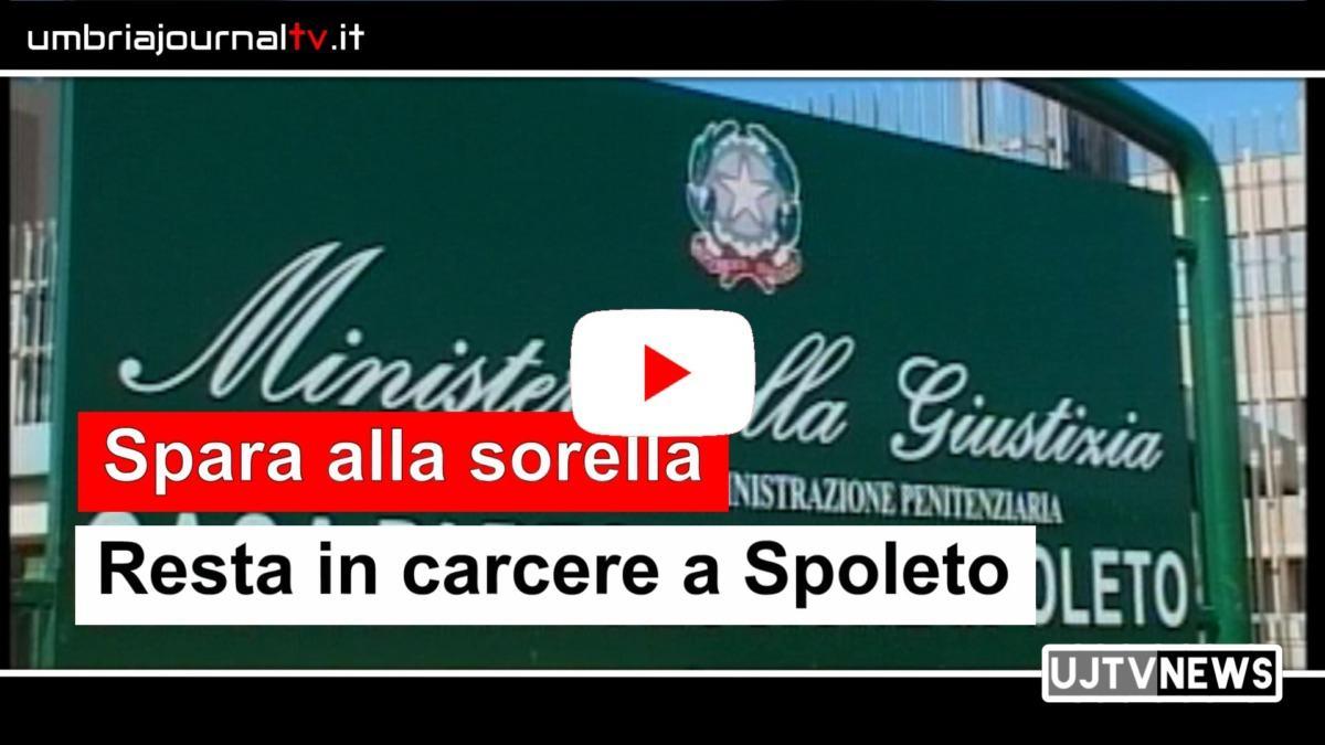 Spara alla sorella, Danilo Baldini resta in carcere a Spoleto