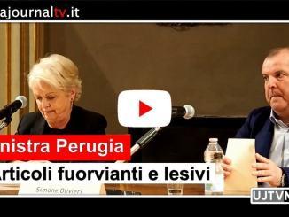 Università per gli stranieri di Perugia, articoli stampa infangano Ateneo