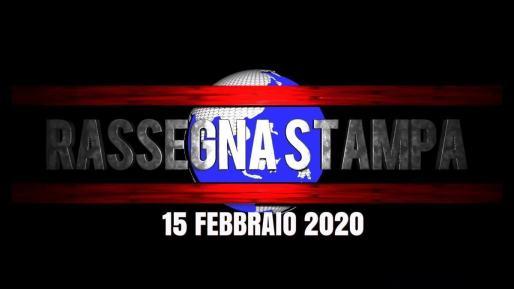 Video rassegna stampa del 15 gennaio 2020 prime di copertina