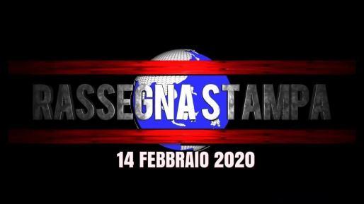 Prime pagine, rassegna stampa video del 14 febbraio 2020