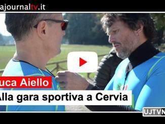 Il maratoneta LucaAiello alla gara Ironman in programma a Cervia