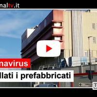 Coronavirus, agli ospedale di Perugia e Terni arrivati i container