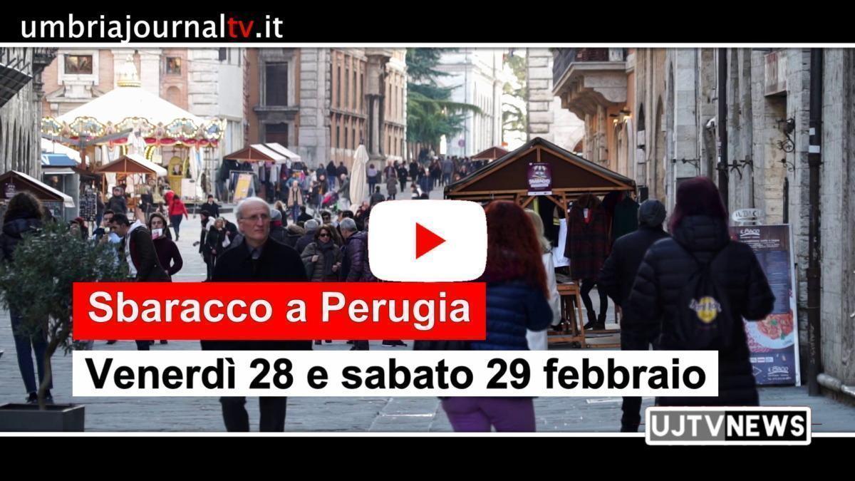 Sbaracco in centro a Perugia, 28 e 29 febbraio 2020