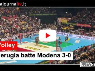 Sir Safety Conad Perugia sconfigge 3-0 la Leo Shoes Modena