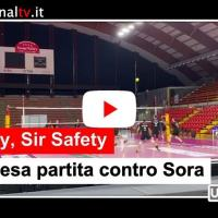 Volley, Sir Safety Conad Perugia, sospesa partita con Sora