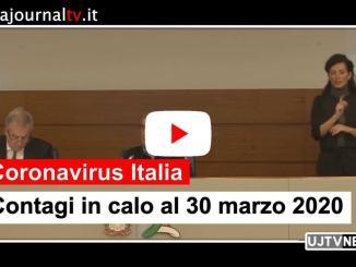 Coronavirus, in Italia al 30 marzo guariti in 1590, contagi in calo 1.648