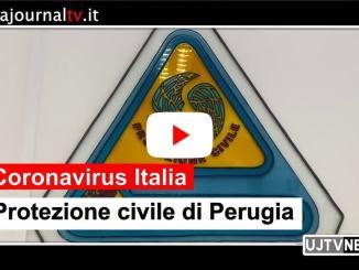 Coronavirus Umbria, quello che fa la protezione civile, il Gruppo Perusia