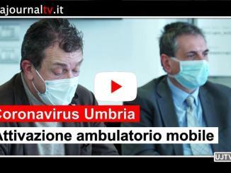 Covid-19, ambulatorio mobile per tamponi in Umbria, firmato accordo