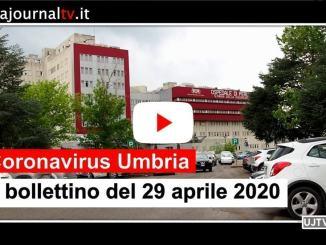 Coronavirus in Umbria, nuovi guariti al 29 aprile, ma ci sono altri 12 positivi in più