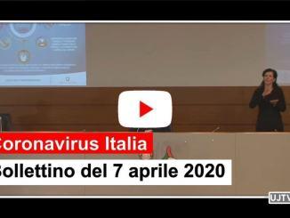 Sensibile calo, al 7 aprile rallenta la corsa del Coronavirus in Italia