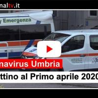 Umbria, al primo aprile 17 positivi in più al Covid-19, cresce guarigione clinica