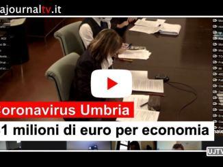 Covid, Fase 2 in Umbria incentrata su tre assi sanità, guide sicurezza e misure economiche