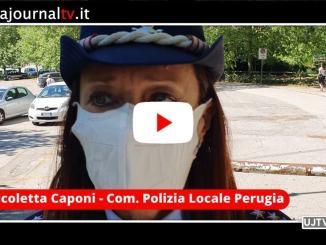Fase 2 Perugia, intervista alla Comandante della Polizia Locale, Nicoletta Caponi