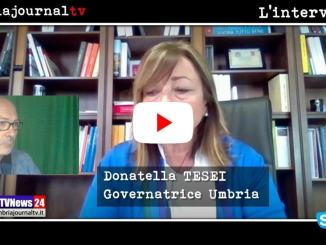 Intervista con la presidente Donatella Tesei, Fase2 e ricostruzione in Umbria