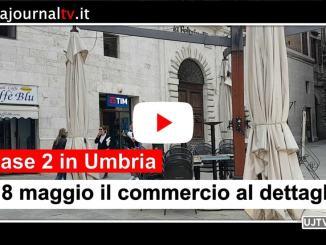 Fase 2, il 18 maggio apre il commercio al dettaglio in Umbria
