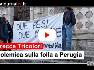 Non si arresta la polemica dopo gli assembramenti a Perugia a veder le Frecce