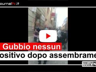 Negativi tamponi dopo assembramenti Gubbio il giorno 15 maggio 2020