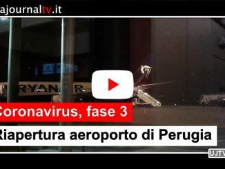 Aeroporto di Perugia, iniziata la fase 3 al San Francesco d'Assisi in piena sicurezza