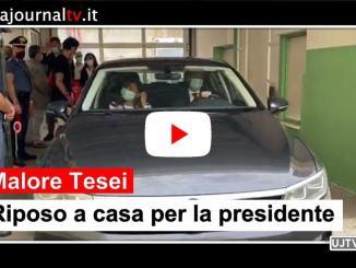 Malore Tesei, riposo a casa per la presidente dell'Umbria